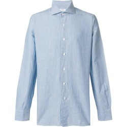 Barba classic shirt - Blue found on MODAPINS from FarFetch.com- UK for USD $205.04