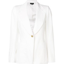Ann Demeulemeester fitted button jacket - White found on MODAPINS from FarFetch.com - US for USD $1435.00