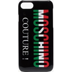 Moschino black couture logo iPhone 8 case found on Bargain Bro UK from Browns Fashion
