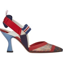 Fendi Zucca sports band slingback pumps - Red found on Bargain Bro India from FARFETCH.COM Australia for $993.90