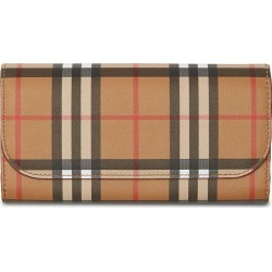 Burberry Vintage Check Continental Wallet - Yellow found on Bargain Bro Philippines from FarFetch.com - US for $560.00