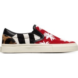 Amiri multicoloured palm print calf hair and canvas sneakers found on MODAPINS from FARFETCH.COM Australia for USD $380.76