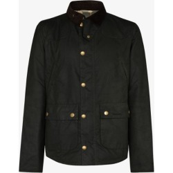 Barbour Mens Black Reelin Wax Jacket found on Bargain Bro UK from Browns Fashion