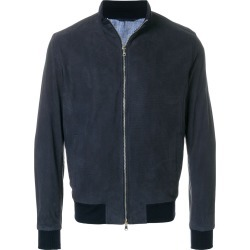 Barba zipped jacket - Blue found on MODAPINS from FARFETCH.COM Australia for USD $1265.05
