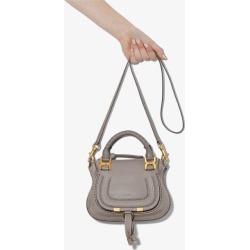 Chloé Womens Grey Marcie Mini Leather Handbag found on MODAPINS from Browns Fashion for USD $1213.21