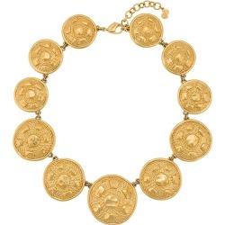 Christian Dior Vintage circle pendant necklace - Gold