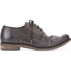 A Diciannoveventitre distressed derby shoes - Brown found on MODAPINS from FARFETCH.COM Australia for USD $2078.03