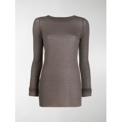 Rick Owens long sleeve ribbed T-shirt found on Bargain Bro UK from MODES GLOBAL