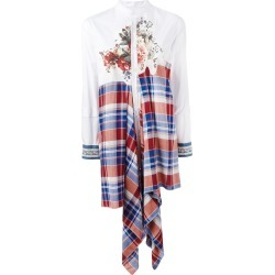 Antonio Marras draped patchwork shirt - White found on MODAPINS from FarFetch.com- UK for USD $594.89