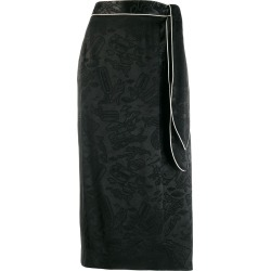 Alexa Chung all-over print skirt - Black found on MODAPINS from FARFETCH.COM Australia for USD $376.40