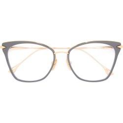 7b6bf8b1fe6 Dita Eyewear square frame glasses - Black found on MODAPINS from FarFetch.com  - US