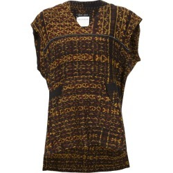 Baja East Baja print hooded top - Yellow found on MODAPINS from FarFetch.com- UK for USD $772.41