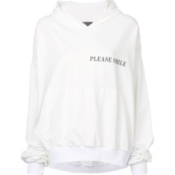 Barbara Bologna graphic print hoodie - White found on MODAPINS from FarFetch.com- UK for USD $521.72