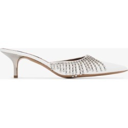 Area Womens White Area Womens White Crys Frng Ktn Hl 50 Pmp W Ptoe found on MODAPINS from Browns Fashion for USD $914.30