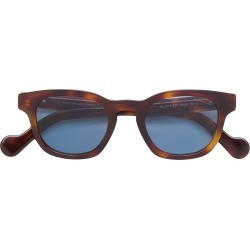 6888d2a9cf Moncler Eyewear tortoiseshell square sunglasses - Brown found on MODAPINS  from FARFETCH.COM Australia for