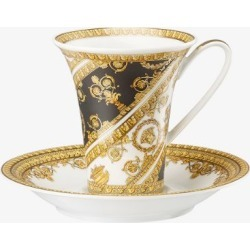 Versace Womens Yellow I Love Baroque Cup And Saucer found on Bargain Bro UK from Browns Fashion