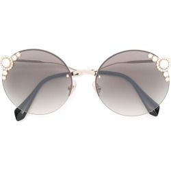 24cc4273d69 Miu Miu Eyewear Manière sunglasses - Gold found on MODAPINS from FarFetch.com  - US