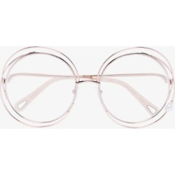 Chloé Eyewear Womens Gold Carlina Pearl Round-frame Glasses found on Bargain Bro UK from Browns Fashion