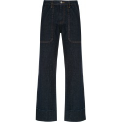 Andrea Bogosian denim palazzo pants - Blue found on MODAPINS from FarFetch.com- UK for USD $614.20