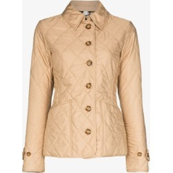 Burberry Womens Neutrals Diamond Quilted Thermoregulated Jacket found on Bargain Bro UK from Browns Fashion