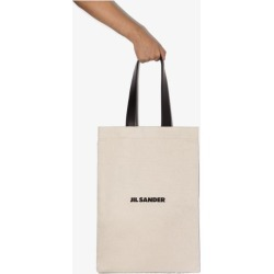 Jil Sander Mens White Canvas Tote Bag found on Bargain Bro UK from Browns Fashion