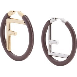 Fendi F Is Fendi earrings - Brown found on Bargain Bro India from FARFETCH.COM Australia for $598.40