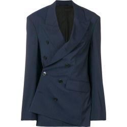 A.F.Vandevorst asymmetric tailored blazer - Blue found on MODAPINS from FarFetch.com- UK for USD $745.81