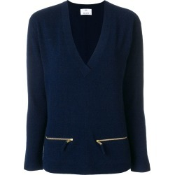 Allude zip detail jumper - Blue found on MODAPINS from FARFETCH.COM Australia for USD $197.46