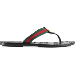 f1de5195e0ca22 Where to Buy. FarFetch.com- UK. Gucci GG thong Web sandal ...