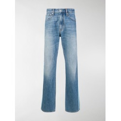 Calvin Klein Jeans stripe panel jeans found on Bargain Bro India from stefania mode for $86.00