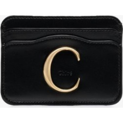 Chloé Womens Black Chloé Womens C Leather Card Holder found on Bargain Bro UK from Browns Fashion