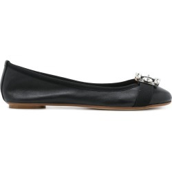 Anna Baiguera buckle detail ballerina flats - Black found on MODAPINS from FarFetch.com- UK for USD $240.45