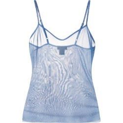 Avant Toi sheer vest top - Blue found on MODAPINS from FarFetch.com- UK for USD $426.76