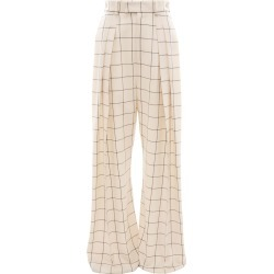 JW Anderson Windowpane high waisted wide leg trousers - Neutrals found on Bargain Bro Philippines from FarFetch.com - US for $950.00