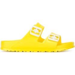 Birkenstock rubber slider sandals - Yellow