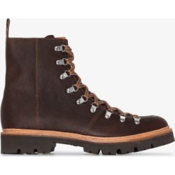 Grenson Mens Brown Brady Leather Hiking Boots found on MODAPINS from Browns Fashion for USD $384.84