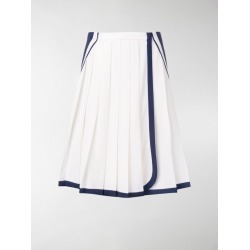 Prada two tone pleated skirt found on MODAPINS from Stefania Mode UK for USD $1703.23