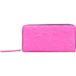 Maison Margiela embossed purse - Pink found on Bargain Bro UK from FarFetch.com- UK