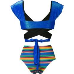Anjuna Chiara bikini - Blue found on MODAPINS from FarFetch.com - US for USD $250.00