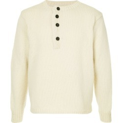 Bergfabel chunky knit cropped sweater - White found on MODAPINS from FarFetch.com - US for USD $488.00