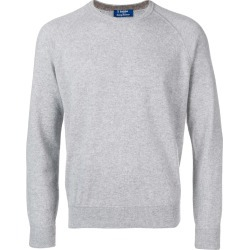 Barba round neck jumper - Grey found on MODAPINS from FarFetch.com- UK for USD $272.95