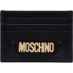 Moschino Womens Black Diame Logo Card Holder found on Bargain Bro UK from Browns Fashion