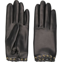 Agnelle rivet leather gloves - Black found on MODAPINS from FarFetch.com - US for USD $153.00