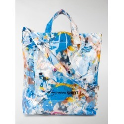 Comme Des Garçons Shirt graffiti-print tote bag found on MODAPINS from stefania mode for USD $379.00