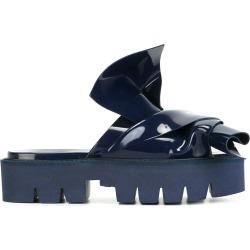 No21 knotted slider sandals - Blue
