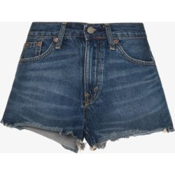 Polo Ralph Lauren Womens Blue Cut-off Denim Shorts found on Bargain Bro UK from Browns Fashion