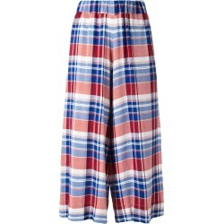 Antonio Marras checked cropped trousers - Blue found on MODAPINS from FarFetch.com- UK for USD $304.76