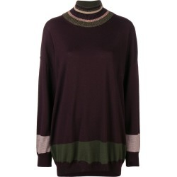 Antonio Marras oversized striped sweater - Pink found on MODAPINS from FarFetch.com - US for USD $257.00