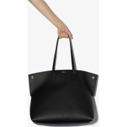Burberry Womens Black Large Society Leather Tote Bag found on Bargain Bro UK from Browns Fashion
