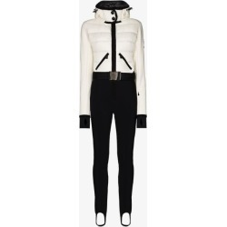 Moncler Grenoble Womens White Padded Ski Suit found on Bargain Bro UK from Browns Fashion